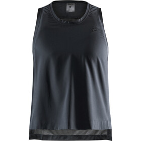 Craft UNTMD Top Abertura Alta Mujer, black